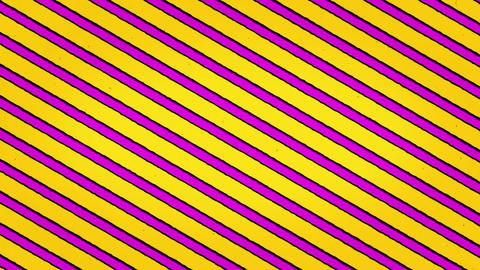 Yellow Purple Lines Animation Seamless Looped Texture Animation