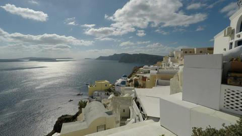 oia village on santorini island Footage