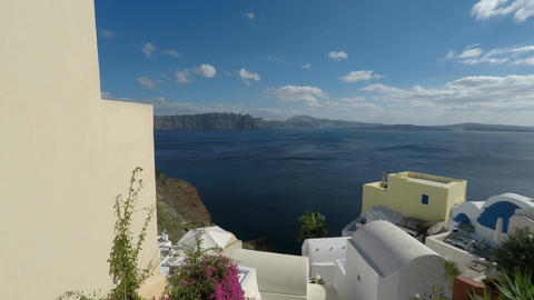 oia village on santorini island Footage