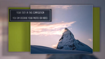 Positive Clean Slideshow stock footage