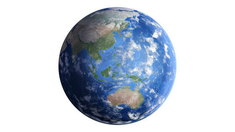 Earth w B2day 4K Animation