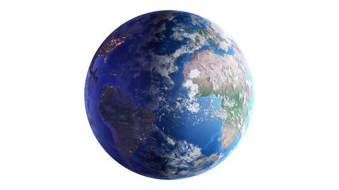 Earth w B1nb 4K Animation