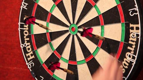 darts 6 Footage