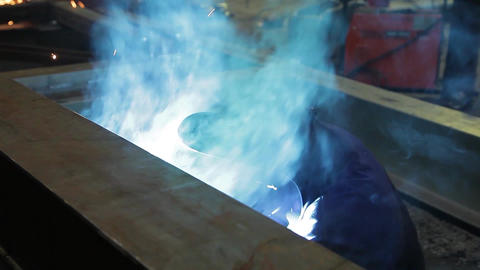 welding 1 Footage