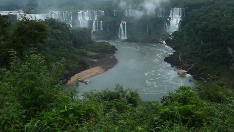 Iguassu Falls, Brazil Footage