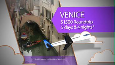 Travel Promo stock footage