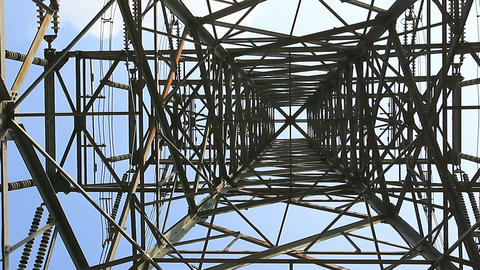 SNY 50218P01- 0282 南投明池水庫與水利發電 電線塔 Footage