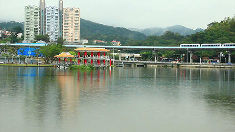 SNY 50224P02- 2427 台北大湖公園與捷運 Footage