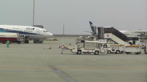 Okinawa Naha Airport 03 ana Footage