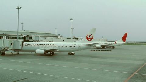 Okinawa Naha Airport 05 jal 1 Footage