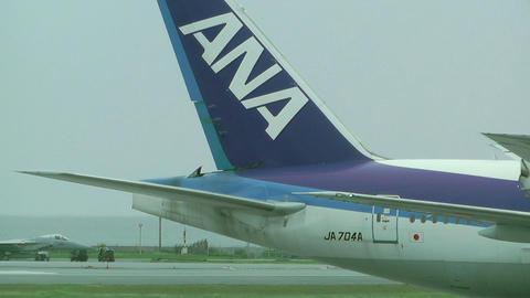 Okinawa Naha Airport 07 ana Footage