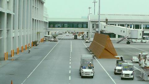 Okinawa Naha Airport 09 Stock Video Footage