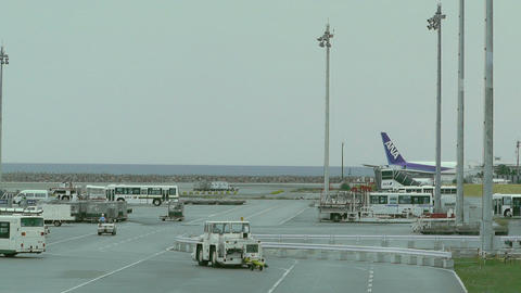 Okinawa Naha Airport 13 Stock Video Footage