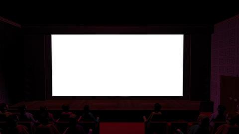 映画館 Stock Video Footage