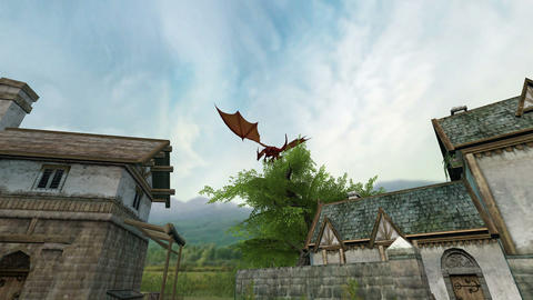 ドラゴン CG動画