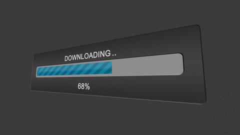 Download progress bar Stock Video Footage