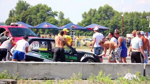 Drag 8 Stock Video Footage