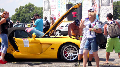 Supercar 1 Stock Video Footage