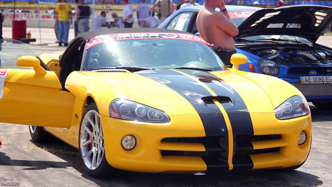 Supercar 3 Stock Video Footage