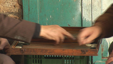 backgammon 3 Stock Video Footage