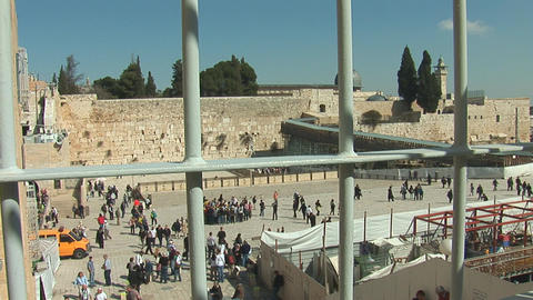 kotel grating Stock Video Footage