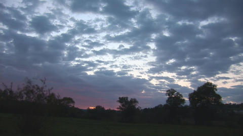 sunset 34 Stock Video Footage