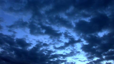 sky dark Stock Video Footage