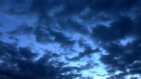 sky dark Footage