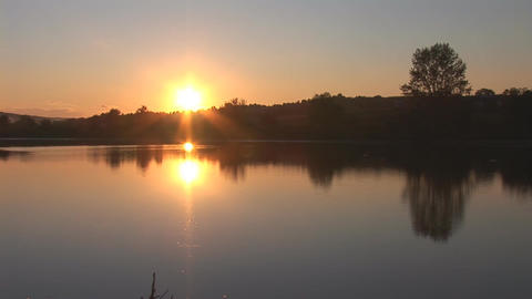 sunset 16 Stock Video Footage