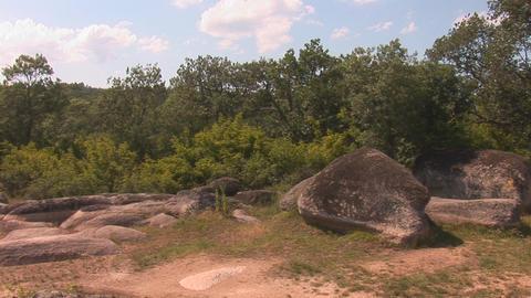 sacred stones 1 Stock Video Footage