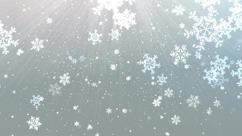 Elegant Snow Flakes 2 Animation