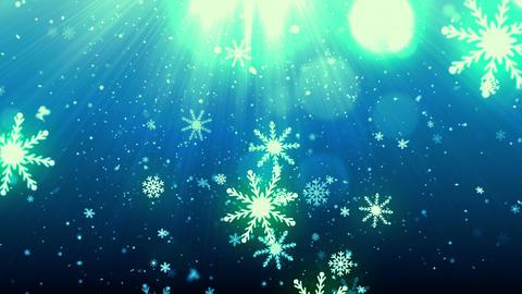 Christmas Eve Snow Flakes Animation