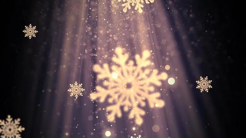 Christmas Snowflakes 1 Animation