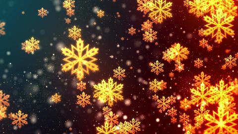 Christmas Flakes Animation