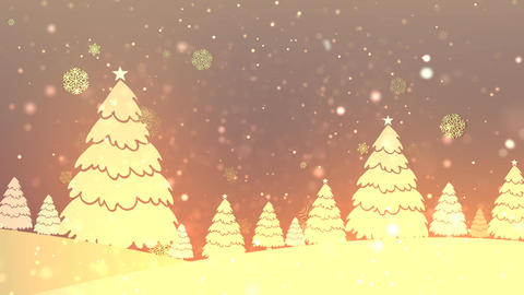 Christmas Retro Bg 1 Animation