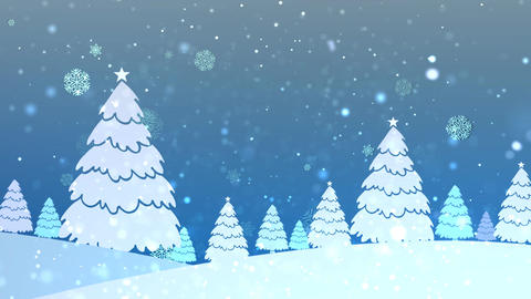 Christmas Retro Bg 2 Animation