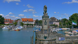 Lindau At Lake Constance, Germany stock footage