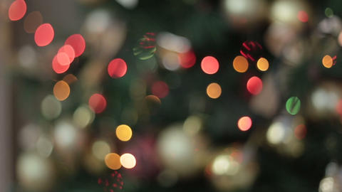 Cristmas light, Bokeh Footage