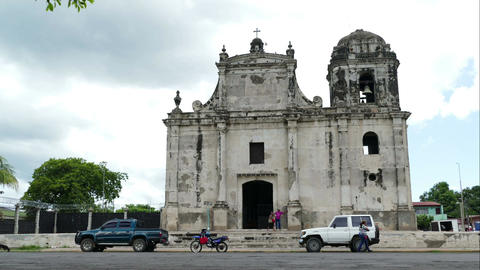 Iglesia de San Juan church in time lapse Footage