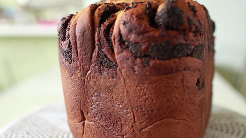 Aromatic Papaverous Muffin stock footage