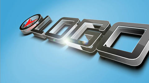 3 D Simple Logo After Effects Template