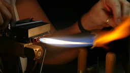 Fire Work - Hot Glass Jewelry - 03 Footage