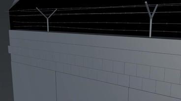Berlin Wall 1st gen Elements 3D Model
