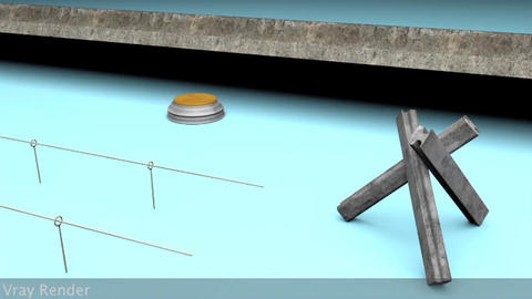 Berlin Wall Trap Elements Modelo 3D