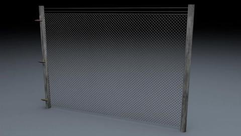 Electric Fence v 1 3D Model
