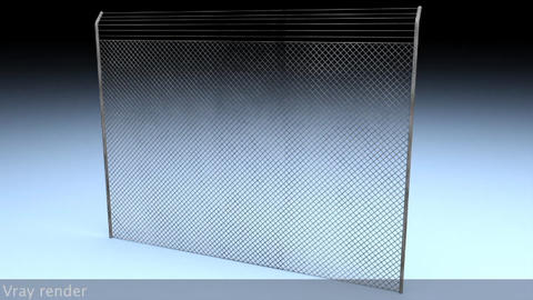 Electric Fence v 2 3D Model