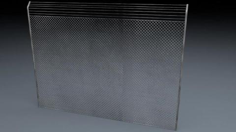 Electric Fence v 2 3D Model