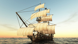 海賊船 Animation