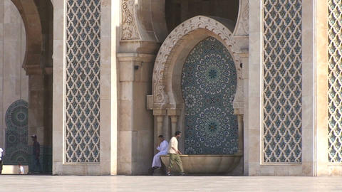 Hassan II Mosque Footage