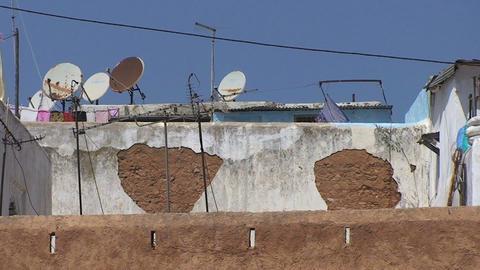 Walls of Old Medina, Rabat Footage